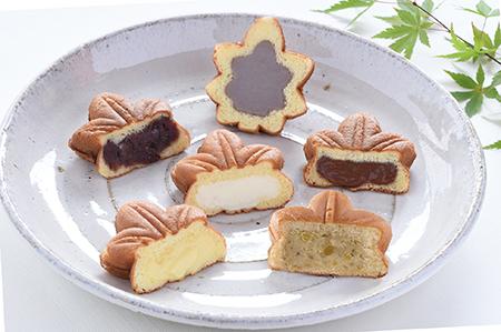もみじ饅頭 5種類+季節限定 栗もみじ